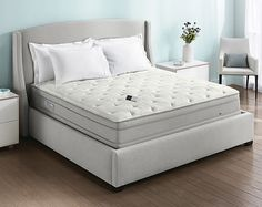 We want a king size sleep number bed (not one that goes up and down) with a memory foam topper.
