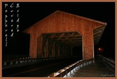 Pepperell Covered Bridge, Pepperell, MA 01463