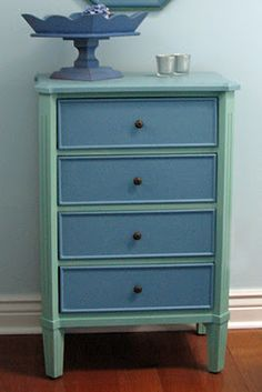 Just*Grand: Before and After * Mini Chest of Drawers* Re-do