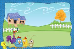 convite galinha pintadinha - Google Search