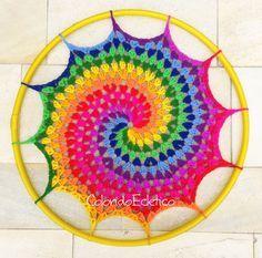 PATRÓN - espiral del hula