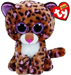 db53d525586 TY Beanie Boo Plush - Patches the Leopard 6
