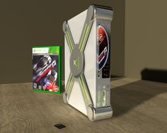Xbox 720 Concept.    Just an idea I had many years ago of the new Xbox 360 Gaming Console successor.  |  xbox, xbox360, xbox720, gaming, console, dvd, bluray, microsoft, cinema, raytrace, render, rendering, image, 3d, digital art, tech, technology, media, multimedia, concept