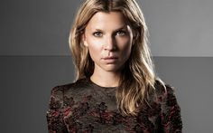 Download wallpapers Clemence Poesy, French actress, portrait, make-up for a blonde, beautiful woman