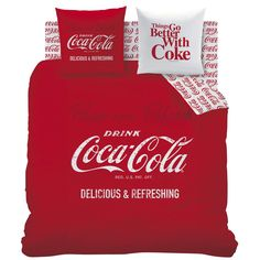 Coca Cola (Duvet Cover).  Wish I had another bedroom to decorate with Coca Cola items!  Love this set!