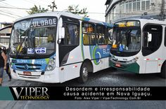 Republicação: 05 de Julho de 2013  Por volta dás 17:40hs, um ônibus da empresa Mirante, ao sair da Av. Dr. Luiz Guimarães entrando na Rua Dr. Frutuoso Rangel, bateu no ônibus da empresa Gloria ...  Leia mais em: http://www.vipertechnology.com.br/?p=2964