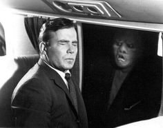 Long before he was helming the Enterprise, Shatner was a legitimate actor. Not yet turned to King of ham-acting, he had two leads in Twilight Zone pieces, Nightmare and Nick of Time (discussed below). While Nick of Time was doubtlessly better, Nightmare is a far more iconic role for the actor