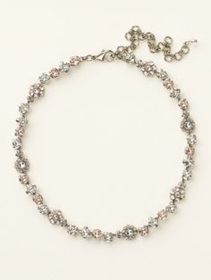 Classic Crystal Floral Necklace in Crystal Clear by Sorrelli - $170.00 (http://www.sorrelli.com/products/NBE2ASCCL)