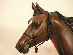 Rope Halter w/ fiador knot LSQ Breyer Peter Stone Trad Model Horse ISH NANQ