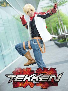 Leo Kliesen: Shu Yuzuriha Tekken Cosplay, Leo, Punk, Fictional Characters, Style, Fashion, Swag, Moda, Fashion Styles