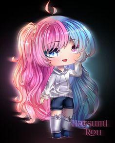 Anime Girl Drawings, Kawaii Drawings, Cute Drawings, Cute Characters, Anime Characters, Cute Chibi, Cute Pokemon, Life Pictures, Cute Little Girls