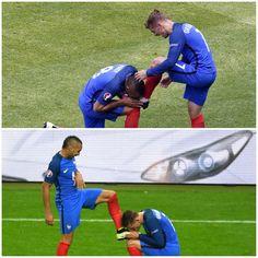 Dimitri Payet and Antoine Griezmann #EURO2016