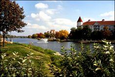 Scenery Along The Fox River In Waukesha, Wisconsin