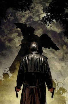 The punisher....Is he about to kill a Weeping Angel?