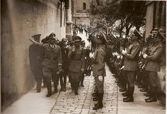 Heinrich Himmler en Toledo, 1940 (Fotografía Rodríguez)