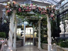 This Beautiful Pergola Can Be Found At The Frederick Meijer Gardens In Victorian Room Flowers Designed By Eastern Fl For A Wedding