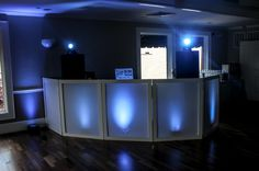 DJ Booth Setup | Facade by Dragon Frontboards