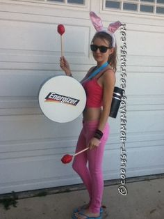 Sexy Energizer Bunny Halloween Costume... 2014 Halloween Costume Contest