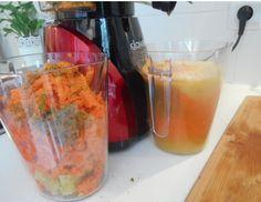 Voici une recette préparée avec de la pulpe de jus de légumes et de fruits de votre extracteur de jus. Ne jetez pas les déchets. Cliquez ici pour la voir.