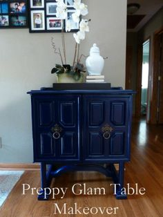 bliss at home refinish furniture with spray paint