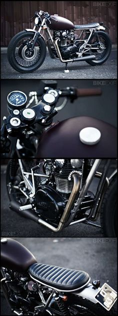 Yamaha XS650 by Clutch Custom