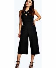 boohoo Cross Strap Culotte Jumpsuit - black azz12469 Bring culottes back the quirky way with this wide cut jumpsuit ! Style it with strappy heels , an envelope clutch and quirky arm cuff . http://www.comparestoreprices.co.uk/womens-clothes/boohoo-cross-strap-culotte-jumpsuit--black-azz12469.asp