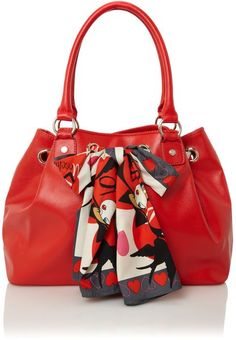 So pretty! Moschino love  Scarf Forever Large Hobo Bag - Lyst  dressmesweetiedarling