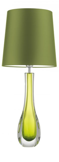 Green Table Lamp, Green Table And Modern Table Lamps On Pinterest