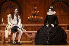 "Samuel Barnett and Mark Rylance in Shakespeare's ""Twelfth Night"""