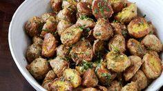 Parmesan-Roasted Potatoes Recipe | Bon Appetit