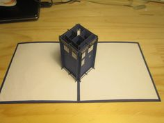 Popup Tardis card tutorial