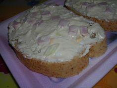 Martinina kuchyně: Pomazánka na chlebíčky No Salt Recipes, Appetizers, Pudding, Cheese, Cake, Food, Spreads, Appetizer, Custard Pudding