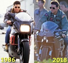 A Top Gun sequel is in the works! Kawasaki 900, Kawasaki Ninja, Top Gum, Tom Cruise Hot, Celebrity Boots, Bike Room, Moto Bike, Movie Wallpapers, Biker Style