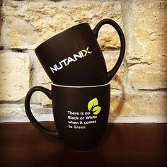 Morning Coffee #swag #companypride #nutanix