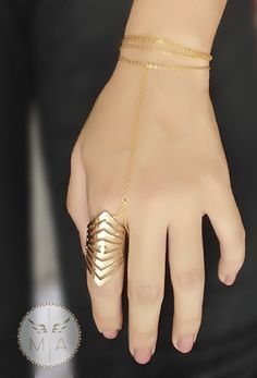 PULSERA TRIO CON ANILLO Bracelets, Gold, Jewelry, Chains, Bangle Bracelets, Jewlery, Jewerly, Schmuck, Jewels