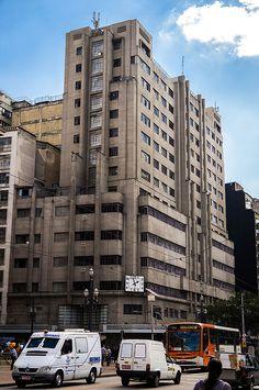Art Deco, João Bricola building in São Paulo, Brazil