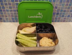 LunchBots Quad Stainless Steel Bento Box Review