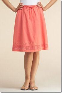 cute modest skirt