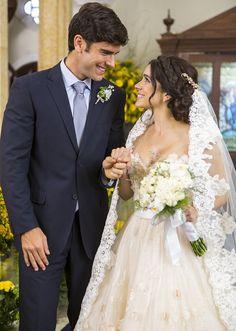 Felipe e Shirlei têm casamento de conto de fadas ♥♥♥ (Foto: Artur Meninea/Gshow)