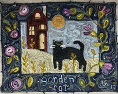 Olympic Wool Works: My Garden Cat