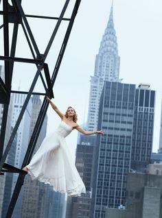 So pretty - Kate Winslet photographed for Harper's Bazaar.