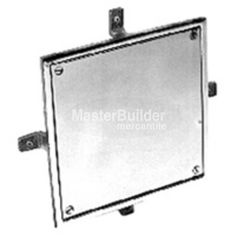 Zurn Square Wall Access Panel, Bronze or Nickel Bronze – MasterBuilder Mercantile Inc. Stainless Steel Panels, Technical Documentation, Access Panel, Cover Style, Polished Nickel, Plumbing, Sale Items, Flask, Engineering