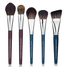 Makeup Brush Set: Last Looks - 5 Piece