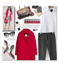 """""""60-Second Style: Tech Job Interview"""" by mada-malureanu ❤ liked on Polyvore featuring Salvatore Ferragamo, MANGO, Dolce&Gabbana, Daniel Wellington, Paul Andrew, Brooks Brothers, Sheinside, jobinterview, 60secondstyle and shein"""