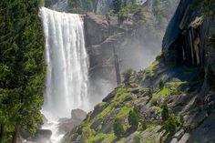 Mist Trail, Vernal Falls, Yosemite National Park