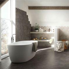 Hanne Rom Havaas (@hanneromhavaas) op Instagram: 'Amazing bathroom, cred; @modenafliser