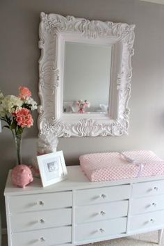 Elegant Pink & Grey Nursery by DannieJoe