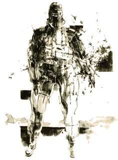 The Pain - Pictures & Characters Art - Metal Gear Solid 3: Snake Eater