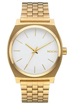 Nixon Women's 'Time Teller' Quartz Metal and Stainless Steel Automatic Watch, Color:Gold-Toned (Model: A045508-00) >>> Check this awesome product by going to the link at the image.