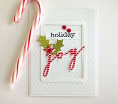 (If you are looking for the 25 Days of Christmas tags, see post below!) Last night I held a card party at my house for the moms in our ne. Homemade Christmas Cards, Christmas Cards To Make, Xmas Cards, Christmas Greetings, Homemade Cards, Handmade Christmas, Christmas Fun, Holiday Cards, Z Cards